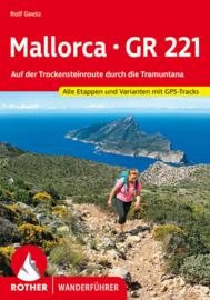 Wandelgids Mallorca GR221 | Rother Verlag | ISBN 9783763345410