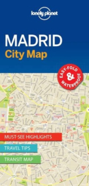 Stadskaart Madrid | Lonely Planet | 1:11.000 | ISBN 9781786577856