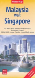 Wegenkaart West Malaysia | Nelles | 1:650.000 | ISBN 9783865745392