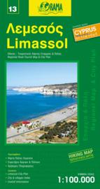 Wegenkaart - Fietskaart Limassol (13) Cyprus   1:100.000   Orama editions   ISBN 9789604486700