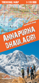Wandelkaart Annapurna Dhaulagiri | TerraQuest Trekking map | 1:110.000 | ISBN 9788361155645