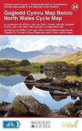 Fietskaart Wales noord - Wales North Cycle Map 024 | Sustrans | ISBN 9781900623438