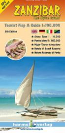 Wegenkaart Zanzibar   Harms   1:100.000   ISBN 9783927468184