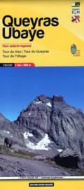 Wandelkaart Queyras Parc Regional | 1:60.000 | Editions Libris 06 | ISBN 9782344042342
