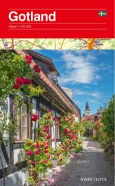 Wegenkaart / fietskaart Gotland (Zweden) | Kartforlaget | 1:100.000 | ISBN 9789113077222