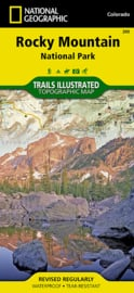 Wandelkaart Rocky Mountain NP - Colorado | National Geographic | 1:50.000 | ISBN 9781566953429