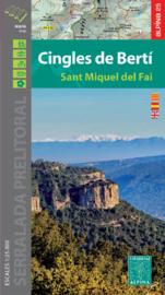 Wandelkaart Cingles de Berti (omg. Barcelona) | Editorial Alpina | 1:25.000 | ISBN 9788480908450