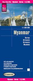 Wegenkaart-Landenkaart Myanmar / Birma / Burma | Reise Know How 1:1,5 miljoen | ISBN 9783831773183