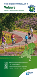 Fietskaart Veluwe | ANWB 09 | 1:100.000 | ISBN 9789018046828