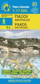 Wandelkaart Paxos/Antipaxos | Anvasi 9.2 | 1:17.000 | ISBN 9789609137997