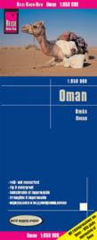 Wegenkaart Oman | Reise Know How | 1:850.000 | ISBN 9783831773190