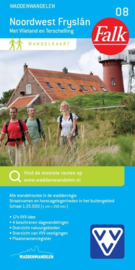 Wandelkaart Friesland - Noordwest Frysland met Vlieland en Terschelling 08 | 1:25.000 | ISBN 9789028728264
