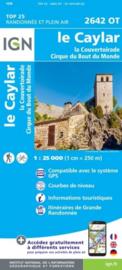 Wandelkaart Le Caylar - La Couvertoirade | Cevennen - Languedoc | IGN 2642OT - IGN 2642 OT | ISBN 9782758543084
