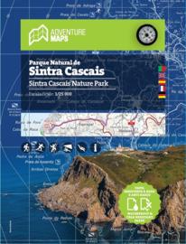 Wandelkaart Sintra Cascais Naturpark | Adventure Maps Portugal | 1:25.000 | ISBN 9789892064031