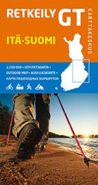 Fiets- Wegenkaart Itä-Suomi GT 2 - Zuid Finland | Karttakeskus | 1:250.000 | ISBN 9789522662064