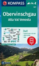 Wandelkaart Obervinschgau | Kompass 041 | 1:25.000 | ISBN 9783991211167
