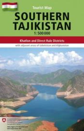 Wegenkaart  Southern Tajikistan - Zuid Tadzjikistan | Gecko Maps | ISBN 9783906593463