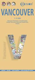 Stadskaart Vancouver   Borch   1:15.000   ISBN 9783866093294