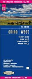 Wegenkaart China west   Reise Know How   1:2,7 miljoen   ISBN 9783831772872