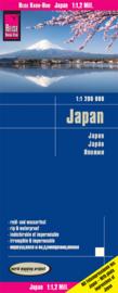 Wegenkaart Japan | Reise Know How | 1:1,2 miljoen | ISBN 9783831772919