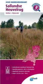 Wandelkaart  Sallandse Heuvelrug | ANWB | 1:33.333 | ISBN 9789018046446