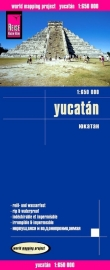 Wegenkaart Yucatan - Mexico | Reise Know How | 1:650.000 | ISBN 9783831772667)
