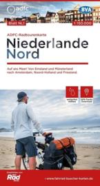 Fietskaart Nederland Noord | ADFC - BVA | 1:150.000 | ISBN 9783870739461