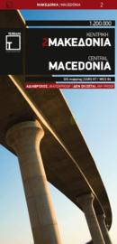 Fiets- & Wegenkaart Grieks Macedonië 2 | Terrain Maps | ISBN 9789609456258