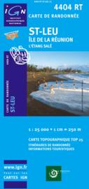 Wandelkaart St-Leu/L'Etang-Sale - Reunion | IGN 4404RT  | 1:25.000 | ISBN 9782758518471