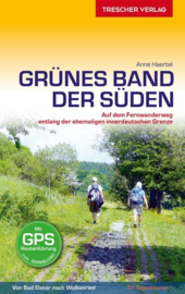 Wandelgids Grünes Band - der Süden | Trescher Verlag | ISBN 9783897945333