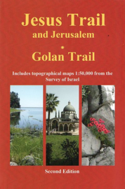 Wandelgids Jesus Trail & Golan Trail | Eshkol Publishing Ltd | ISBN 9789654205757