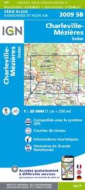Topo-, Wandelkaart Charleville - Mézières / Sedan | IGN 3009SB | 1:25.000 | ISBN 9782758540656