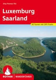 Wandelgids Luxemburg-Saarland |  Rother Verlag | ISBN 9783763343492