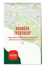 Wandelgids 02 Wandeltweedaagsen Bosbeek Trektocht | Nivon | 1:25.000 | ISBN 9789491142185