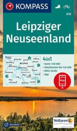 Wandelkaart Leipziger Neuseenland | Kompass 818 | ISBN 9783990442623