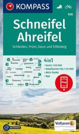 Wandelkaart Schneifel , Ahreifel  | Kompass 836 | 1:50.000 | ISBN 9783990443385