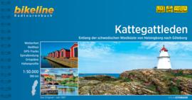 Fietsgids Zweden Kattegattleden : Van Helsingborg naar Göteborg - 390 km. | Bikeline  | ISBN 9783850007160
