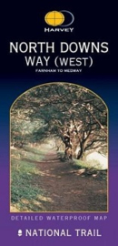 Wandelkaart The North Downs way west |  Harvey | 1:40.000 | ISBN 9781851373673