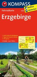 Fietskaart Erzgebirge | Kompass 3088 | 1:70.000 | ISBN 9783850265904