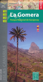 Wandelkaart La Gomera | Editorial Alpina | 1:25.000 | ISBN 9788480907590