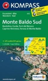 Wandelkaart Monte Baldo Süd | Kompass 692 | 1:25.000 | ISBN 9783850264709