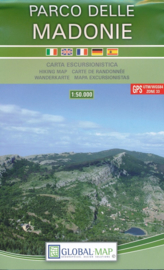 Wandelkaart Madonie | Global Maps | 1:50.000 | ISBN 9788833032924