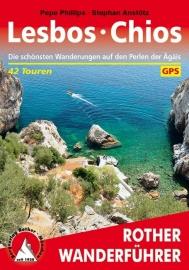 Wandelgids Lesbos - Chios | Rother Verlag | Die schönsten Wanderungen auf den Perlen der Ägäis | ISBN 9783763344109