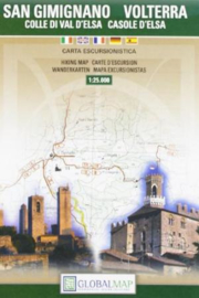 Wandelkaart Volterra / San Gimignano - Toscane | Global Map | 1:25.000 | ISBN 9788879146319