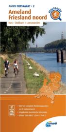 Fietskaart Ameland - Friesland noord | ANWB 2 | 1:66.666 |  ISBN 9789018047030