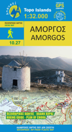 Wandelkaart Amorgos | Anavasi 10.27 | 1:35.000 | ISBN 9789608195318