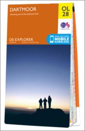 Wandelkaart Dartmoor | Ordnance Survey OLM 28 | 1:25.000 |  ISBN 9780319242674