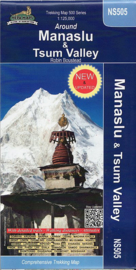 Wandelkaart Manaslu & Tsum Valley | Nepa Publications | 1: 125.000 | ISBN 9799993323104