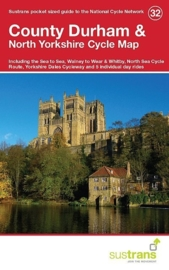 Fietskaart County Durham & North Yorkshire | Sustrans Cycle Map 32 | ISBN 9781910845066