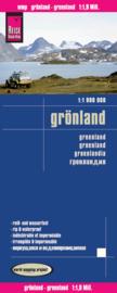 Landkaart - wegenkaart Groenland - Grönland | Reise Know How | ISBN 9783831772575